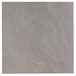 Antayla Grey Stone Effect Stone Porcelain Floor Tile,