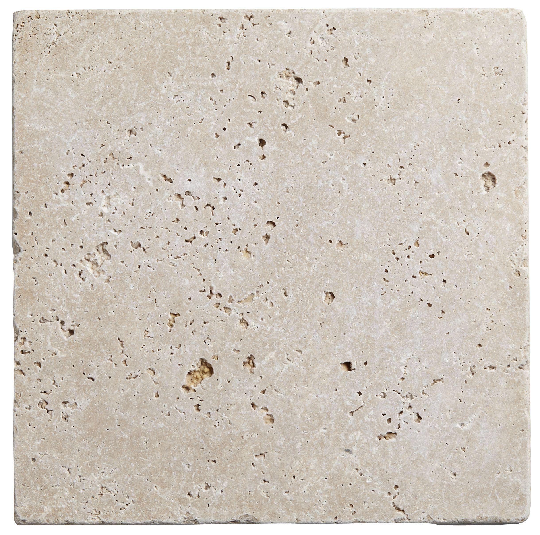 Tumbled Light Beige Stone Effect Travertine Wall Floor