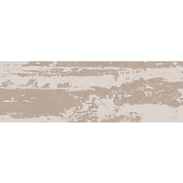 Aura Taupe Satin Ceramic Wall Tile, Pack of