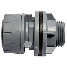 Polyplumb Push Fit Tank Connector (Dia)22mm