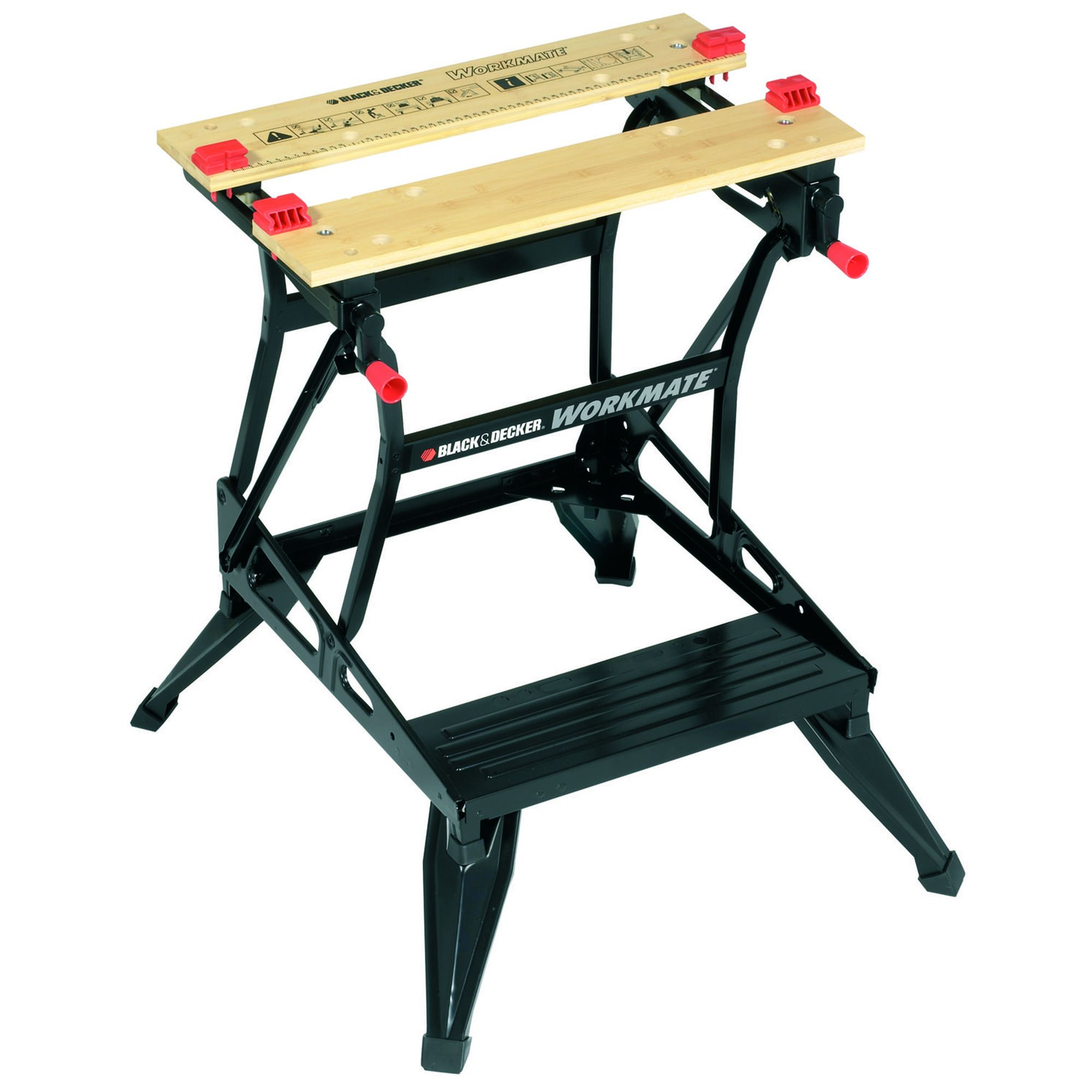 Black Decker Workmate Foldable Workbench W 170mm Departments Diy At B Q