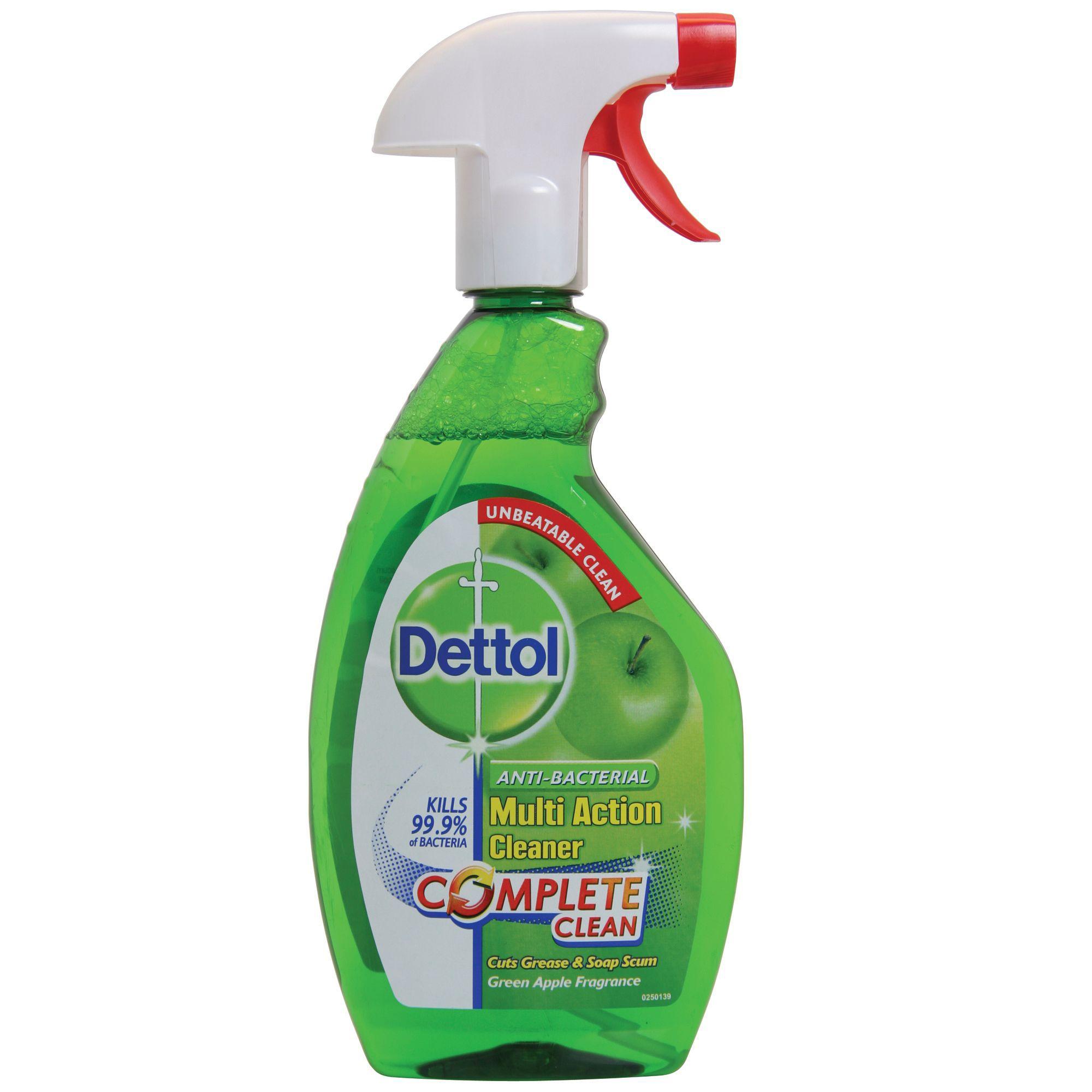 Dettol Multi Action Spray Bottle 500 Ml Departments