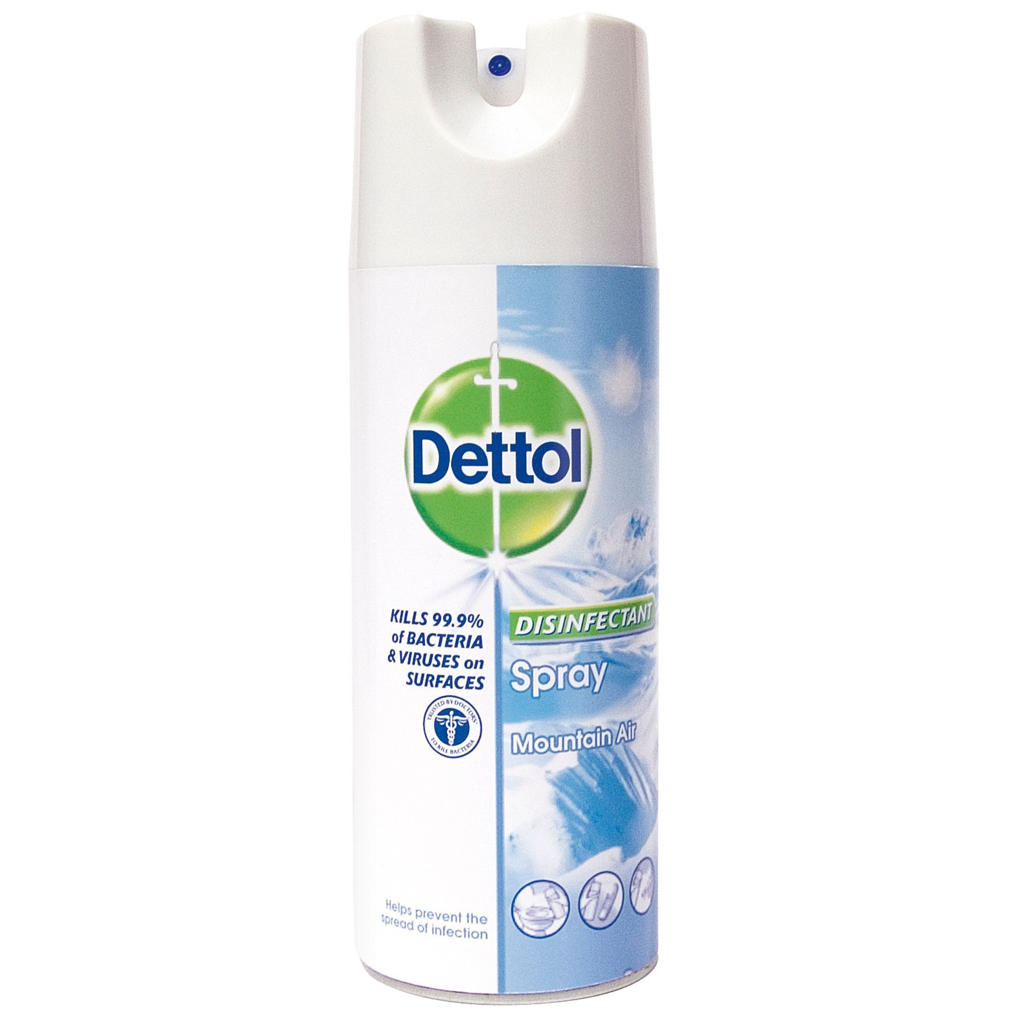 Dettol Disinfectant Spray Can 400 Ml Departments Diy