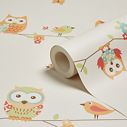 Fun4Walls Owl Wallpaper