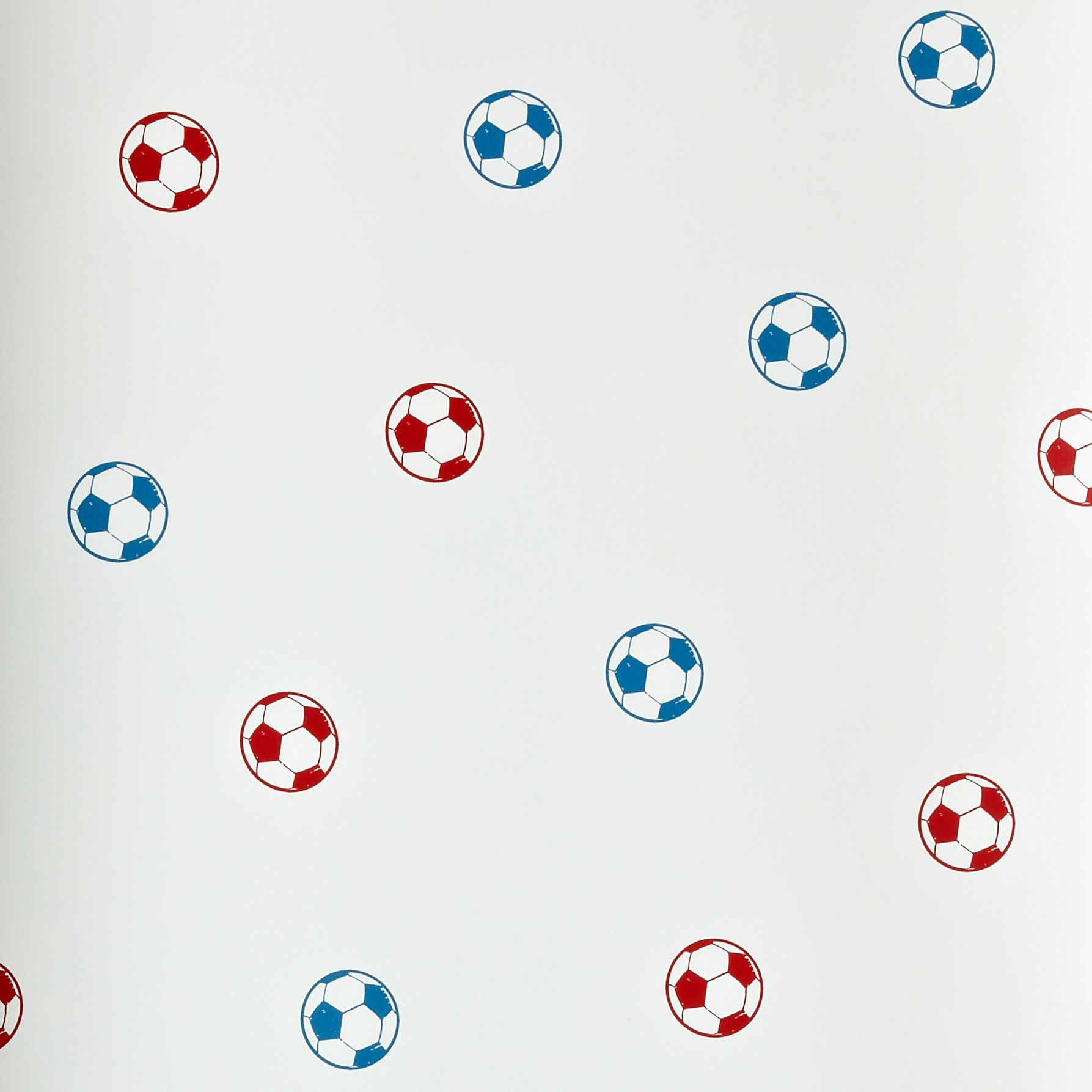 Fun4walls Football Blue Amp Red Wallpaper Departments Diy At B Amp Q
