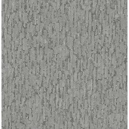 Fine Décor Winter Charcoal Textured Wallpaper
