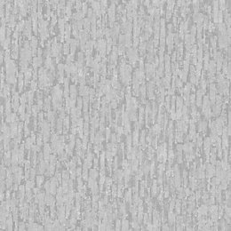 Fine Décor Winter Silver Effect Textured Wallpaper