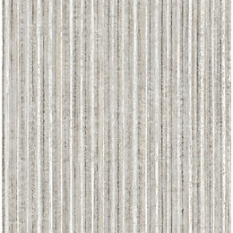Fine Décor Mason Silver Textured Wallpaper