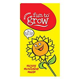 Suttons Fun to Grow Sunny Sunflower Seeds