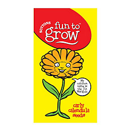 Suttons Fun To Grow Carly Calendula Seeds