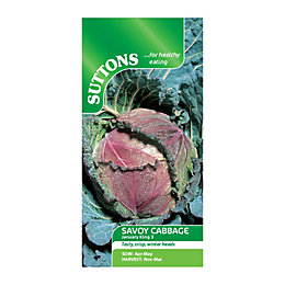 Suttons Cabbage Seeds, January King 3 Mix