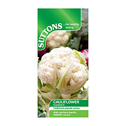 Suttons Cauliflower Seeds, Snowball A Mix