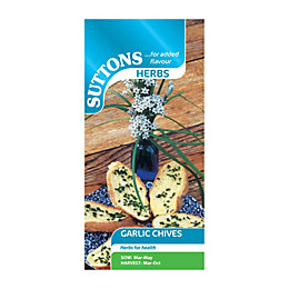 Suttons Garlic Chives Seeds, Herb Mix