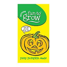 Suttons Fun to Grow Patty Pumpkin Seeds