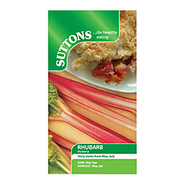 Suttons Rhubarb Seeds, Victoria Mix