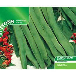 Suttons Runner Bean Seeds, Prizewinner Mix