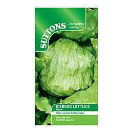 Suttons Lettuce Seeds, Match Mix
