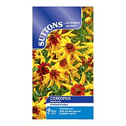 Suttons Coreopsis Seeds, Mardi Gras Mix