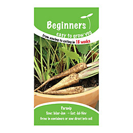 Suttons Beginners Parsnip Seeds, Lancer Mix