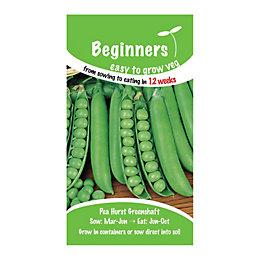 Suttons Beginners Pea Seeds, Hurst Greenshaft Mix