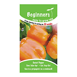 Suttons Beginners Pepper Seeds, Etuida Mix