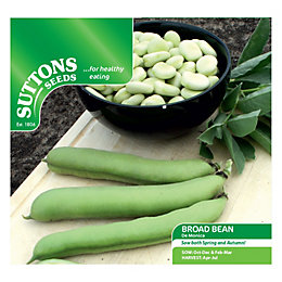 Suttons Broad Bean Seeds, De Monica Mix