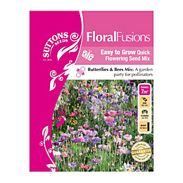 Suttons Floral Fusions Seeds, Madame Butterfly Mix