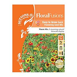 Suttons Floral Fusions Seeds, La Traviata Mix