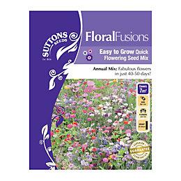 Suttons Floral Fusions Seeds, La Cenicienta Mix