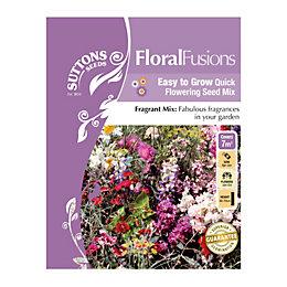 Suttons Floral Fusions Seeds, Fleurs Parfumees Mix