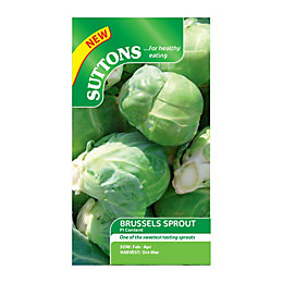 Suttons Brussels Sprout Seeds, F1 Content Mix