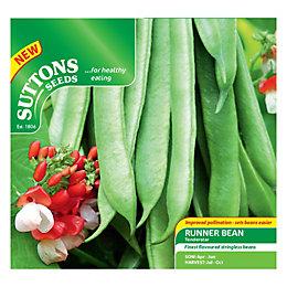 Suttons Bean Seeds, Tenderstar Mix