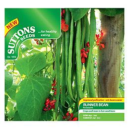 Suttons Runner Bean Seeds, Firestorm Mix