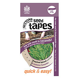 Suttons Seed Tapes Spinach Seed tape