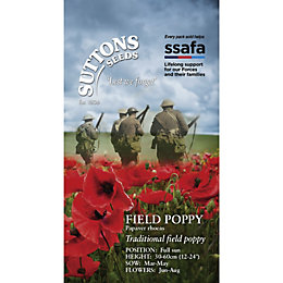 Suttons Field poppy Seeds