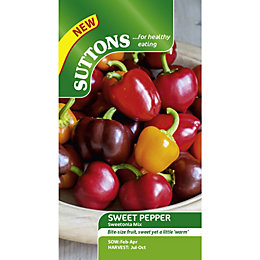 Suttons Sweetonia Mix Seeds, Non Gm