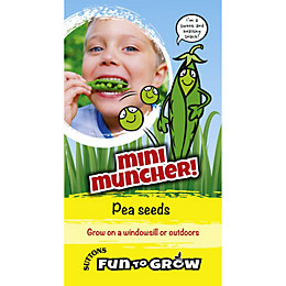 Suttons Fun To Grow Pea Seeds