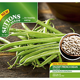Suttons Dwarf French Bean Seeds
