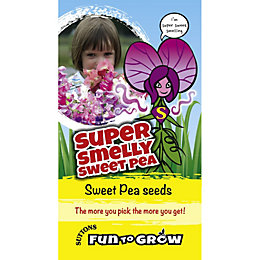 Suttons Fun to Grow Sweet Pea Seeds