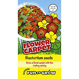 Suttons Fun To Grow Nasturtium Seeds