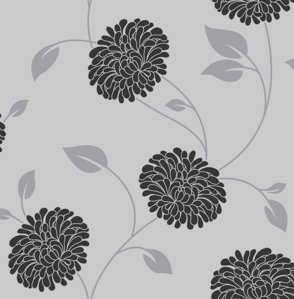 Graham brown superfresco grey floral wallpaper departments diy graham brown superfresco grey floral wallpaper departments diy at bq mightylinksfo