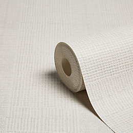 Graham & Brown Superfresco Colours Grey Semi-Plain Textured