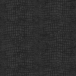 Graham & Brown Black Crocodile Skin Wallpaper