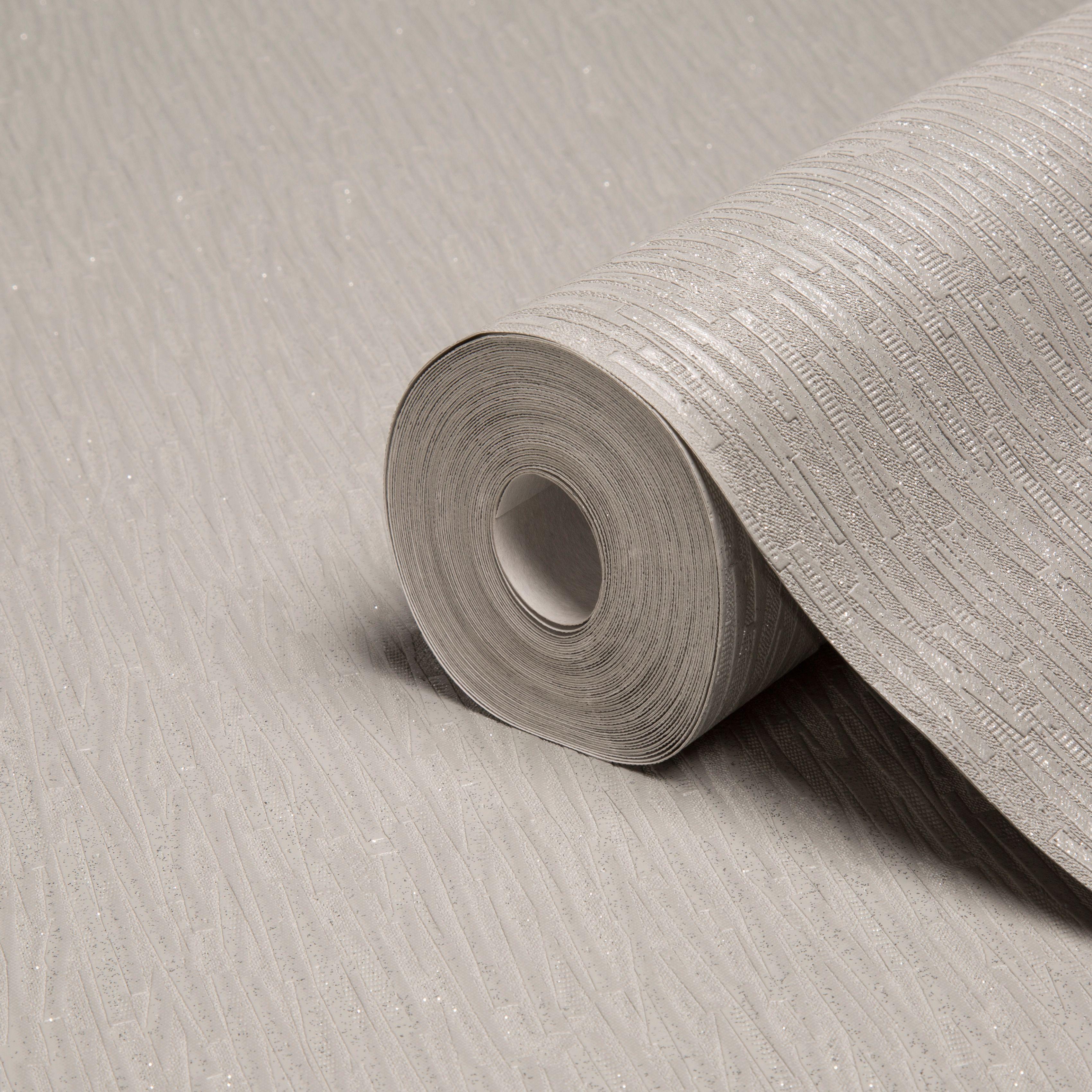 Graham brown heston silver effect plain glitter effect for B q bedroom wallpaper designs