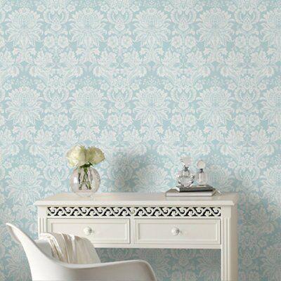 Beautiful Wallpaper Grey Duck Egg Blue - 5011583210712_01i  Trends_869969.com/is/image/Kingfisher/5011583210712_01i