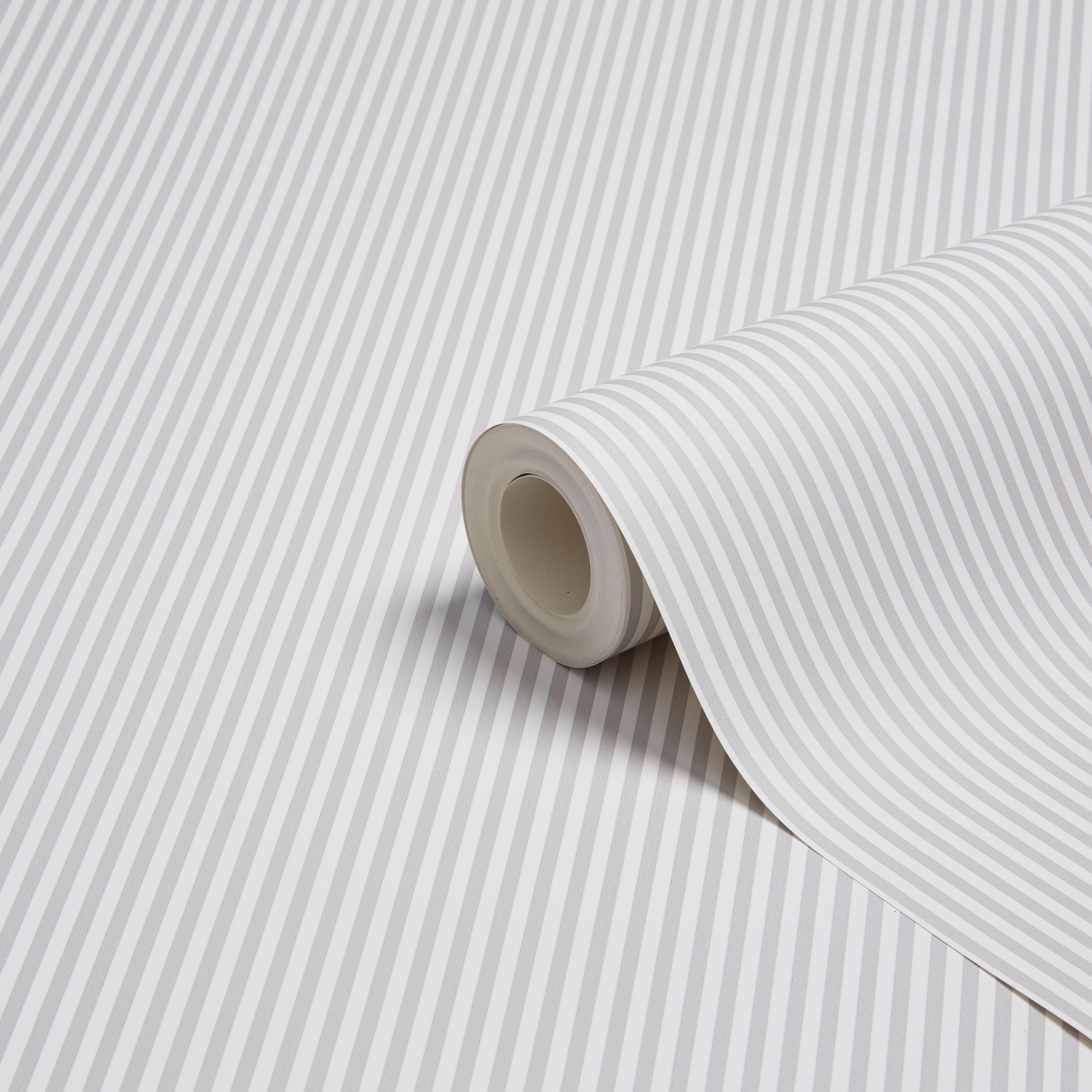 graham brown fresco grey white slim stripe wallpaper. Black Bedroom Furniture Sets. Home Design Ideas