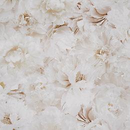 Graham & Brown Fresco Cream Floral Wallpaper