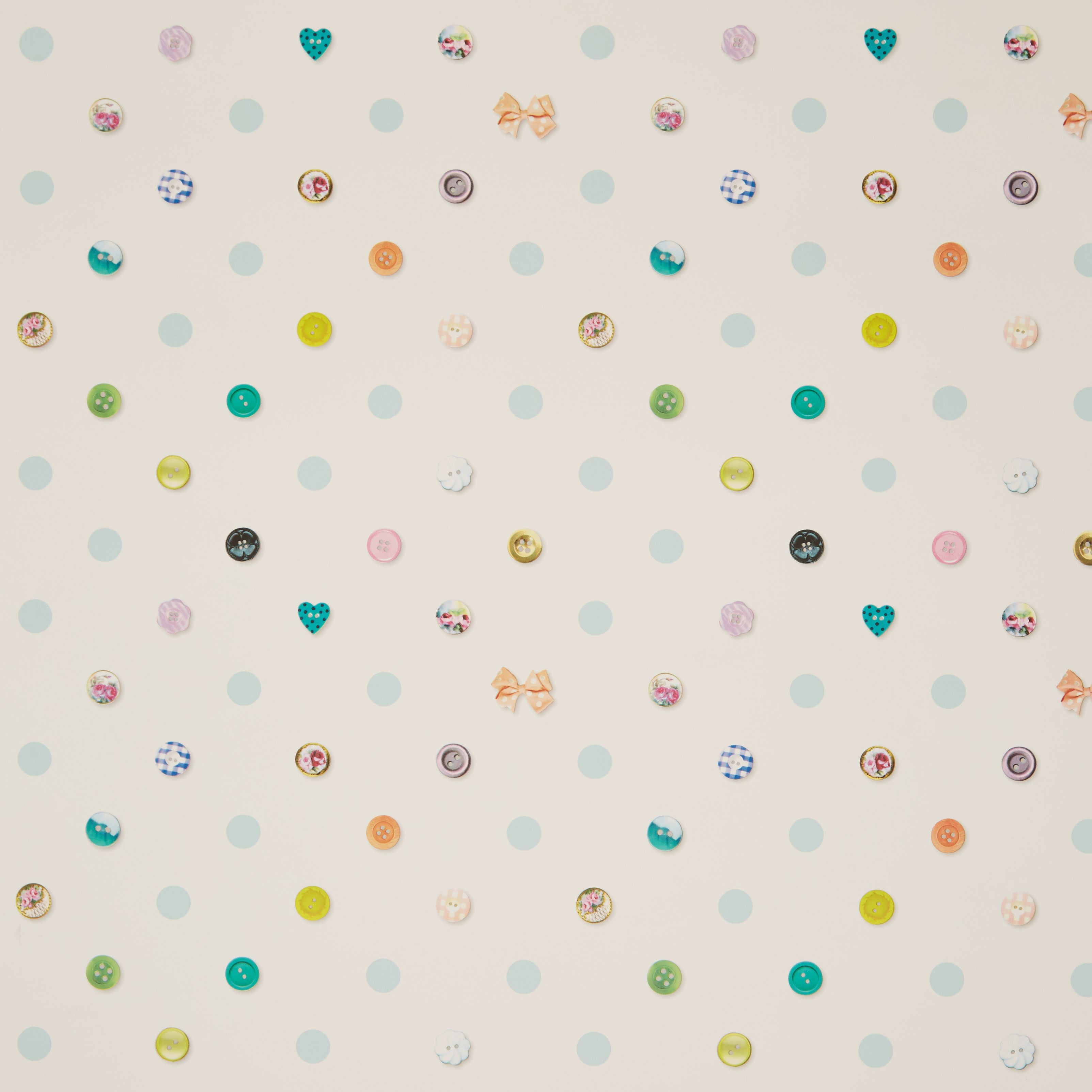 Graham Amp Brown Fresco Polka Dot Buttons Wallpaper