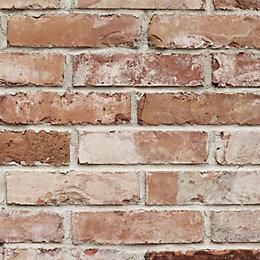 Graham & Brown Superfresco Red Brick Wallpaper