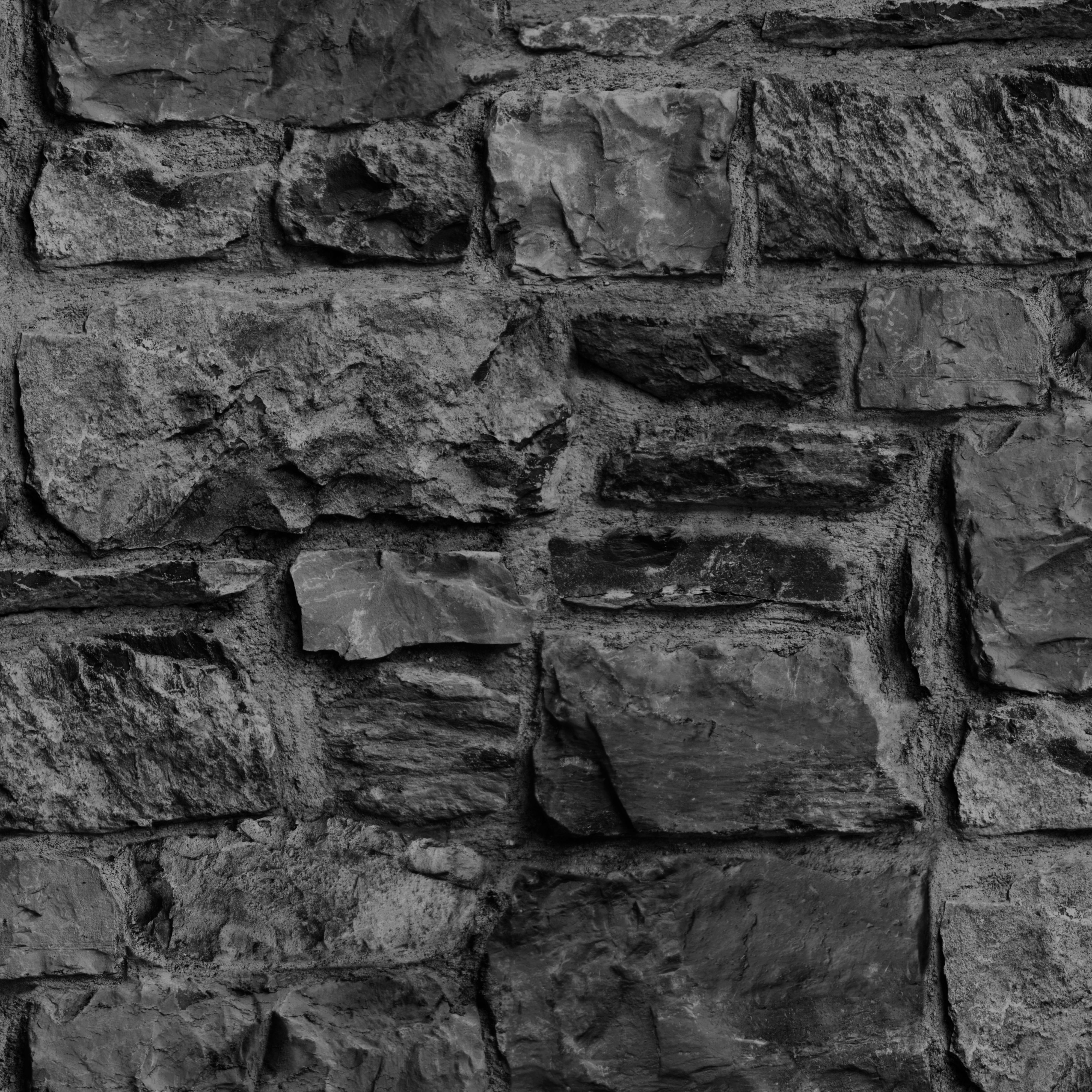 Paper Stone Walls : Graham brown charcoal stone wall wallpaper departments